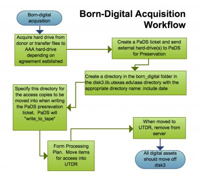 revised born digital workflow